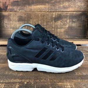Women's Adidas ZX Flux Black Leopard Shoes Size 7